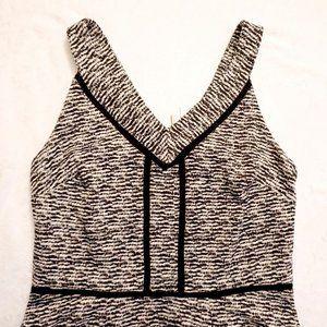 Dress - Black White